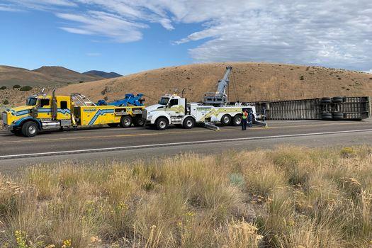 Towing-in-Melandco-Nevada